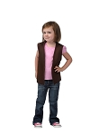 Style A750 No Pocket Kids Uniform Vest Sheriff Callie Cowboy Halloween Costume