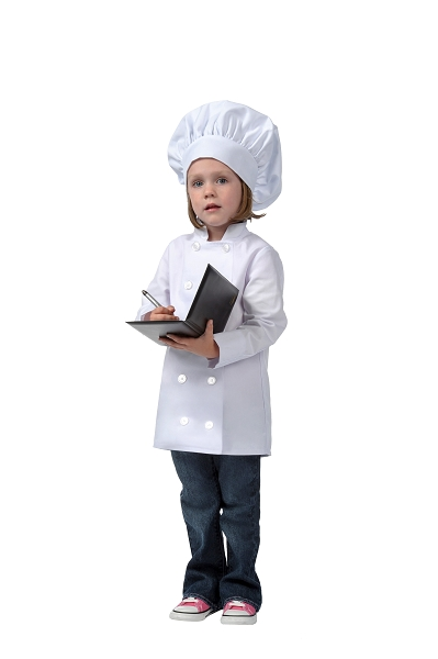 Style 950 Professional Kids Executive Long Sleeve Chef Coat