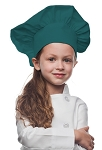 Style 850TL Professional Kids Chef Hat -- Teal