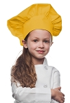 Style 850YL Professional Kids Chef Hat -- Yellow
