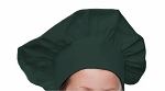 Style 800HG Professional Adult Executive Chef Hat - Hunter Green