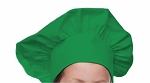 Style 800GN Professional Adult Executive Chef Hat - Kelly Green