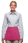 Style 100 Professional Three Pocket Waist Apron - Hot Pink