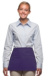 Style 100 Professional Three Pocket Waist Apron - Purple