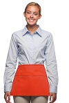 Style 100 Professional Three Pocket Waist Apron - Orange
