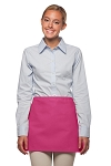 Style: 100NP Professional No Pocket Waist Apron - Hot Pink