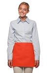 Style: 100NP Professional No Pocket Waist Apron - Orange