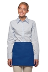 Style: 100NP Professional No Pocket Waist Apron - Royal Blue