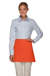 Style 100XL Professional Extra Large Three Pocket Waist Aprons - Orange