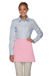 Style 100XL Professional Extra Large Three Pocket Waist Aprons - Pink