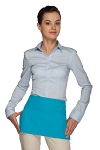Style 105 Professional Two Pocket Waist Aprons - Turquoise