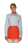 Style 106 Professional SIX Pocket Waist Aprons - 6 Pockets! - Orange