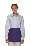 Style 106 Professional SIX Pocket Waist Aprons - 6 Pockets! - Purple