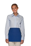 Style 106 Professional SIX Pocket Waist Aprons - 6 Pockets! - Royal Blue