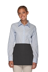 Style 106 Professional SIX Pocket Waist Aprons - 6 Pockets! - Charcoal Gray