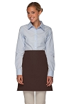 Style 110NP Professional No Pocket Half Bistro Apron - Brown