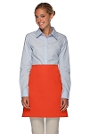 Style 110NP Professional No Pocket Half Bistro Apron - Orange