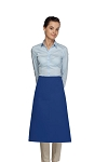 Style 118 Professional One Pocket 3/4 Bistro Apron - Royal Blue