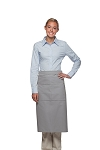 Style 128 Professional Full Bistro Apron with center divided pocket