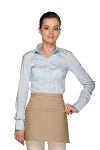 Style 140 Professional Two Pocket Squared Waist Aprons - Khaki