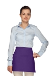 Style 140 Professional Two Pocket Squared Waist Aprons - Purple
