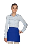 Style 140 Professional Two Pocket SquaRoyal Blue Waist Aprons - Royal Blue