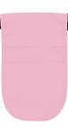 Style 152 Professional Money Pouch Aprons with Attached Belt - Pink