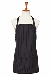Style 200GS Gangster Pinstripe Three Pocket Bib Apron
