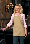 Style 201 High Quality Professional Three Pocket Bib Aprons w/ Pencil Pocket