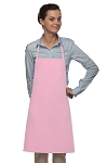 Style 205 Professional Small No Pocket Cover-Up Bib Apron - Pink