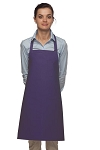 Style 211 Professional Pencil Pocket Bib Apron - Purple