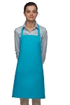 Style 211 Professional Pencil Pocket Bib Apron - Turquoise