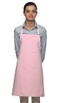 Style 211 Professional Pencil Pocket Bib Apron - Pink