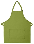212 Professional Bib w/ Center Divided Pocket Apron - Sage