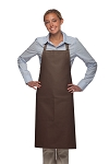 Style 221 High Quality Professional One Pocket Butcher Apron - Brown