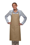Style 221 High Quality Professional One Pocket Butcher Apron - Khaki
