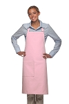 Style 221 High Quality Professional One Pocket Butcher Apron - Pink