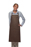 Style 224 Three Pocket Butcher Apron w/ Pencil Pocket - Brown