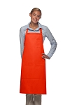 Style 224 Three Pocket Butcher Apron w/ Pencil Pocket - Orange