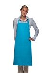 Style 224 Three Pocket Butcher Apron w/ Pencil Pocket - Turquoise