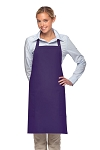 Style 230 Professional Two Patch Pocket Bib Apron - Purple