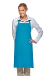 Style 230 Professional Two Patch Pocket Bib Apron - Turquoise