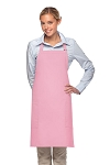Style 230 Professional Two Patch Pocket Bib Apron - Pink