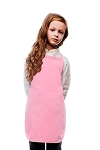 Style 250NP High Quality No Pocket Kids Bib Aprons - Pink