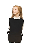 Style 450 High Quality Two Pocket Kids Cobbler Apron - Black