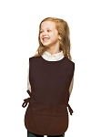 Style 450 High Quality Two Pocket Kids Cobbler Apron - Brown