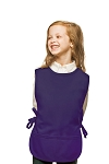 Style 450 High Quality Two Pocket Kids Cobbler Apron - Purple