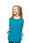 Style 450 High Quality Two Pocket Kids Cobbler Apron - Turquoise