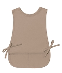 OVERSTOCK Style 450 High Quality Two Pocket Kids Cobbler Apron - Regular Khaki