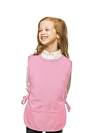 Style 450 High Quality Two Pocket Kids Cobbler Apron - Pink